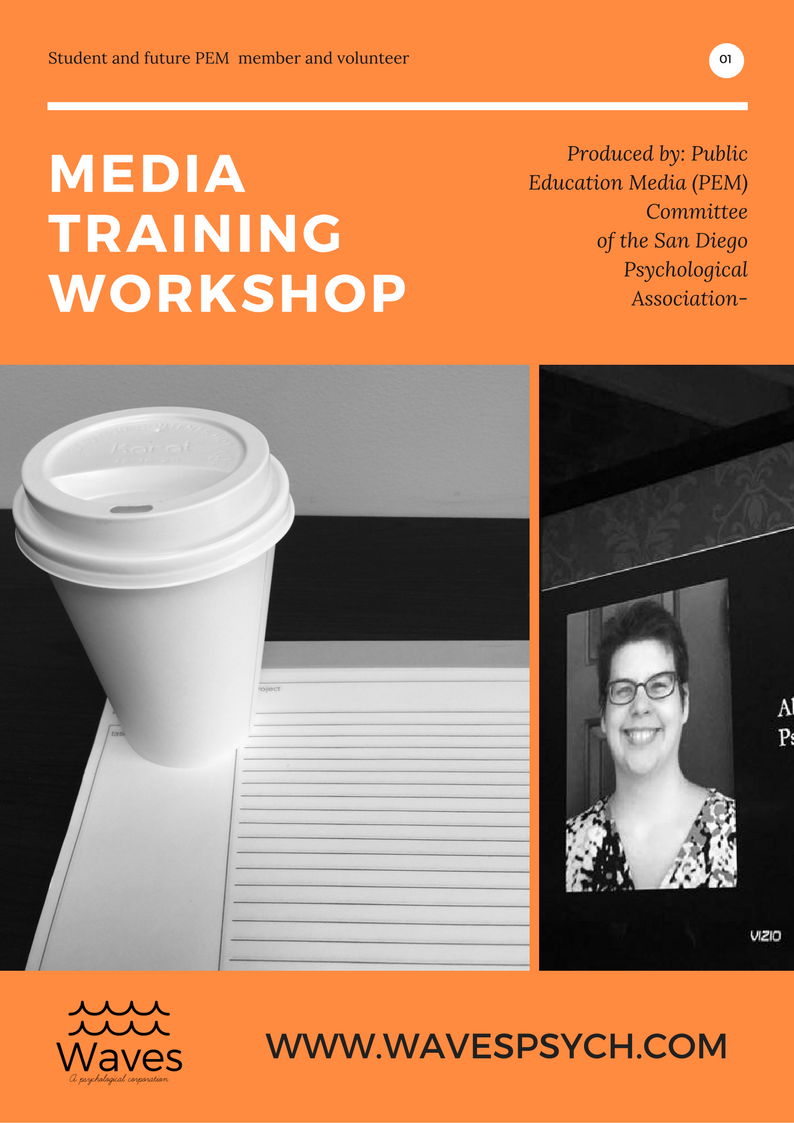 Student, SDPA Media Training Workshop