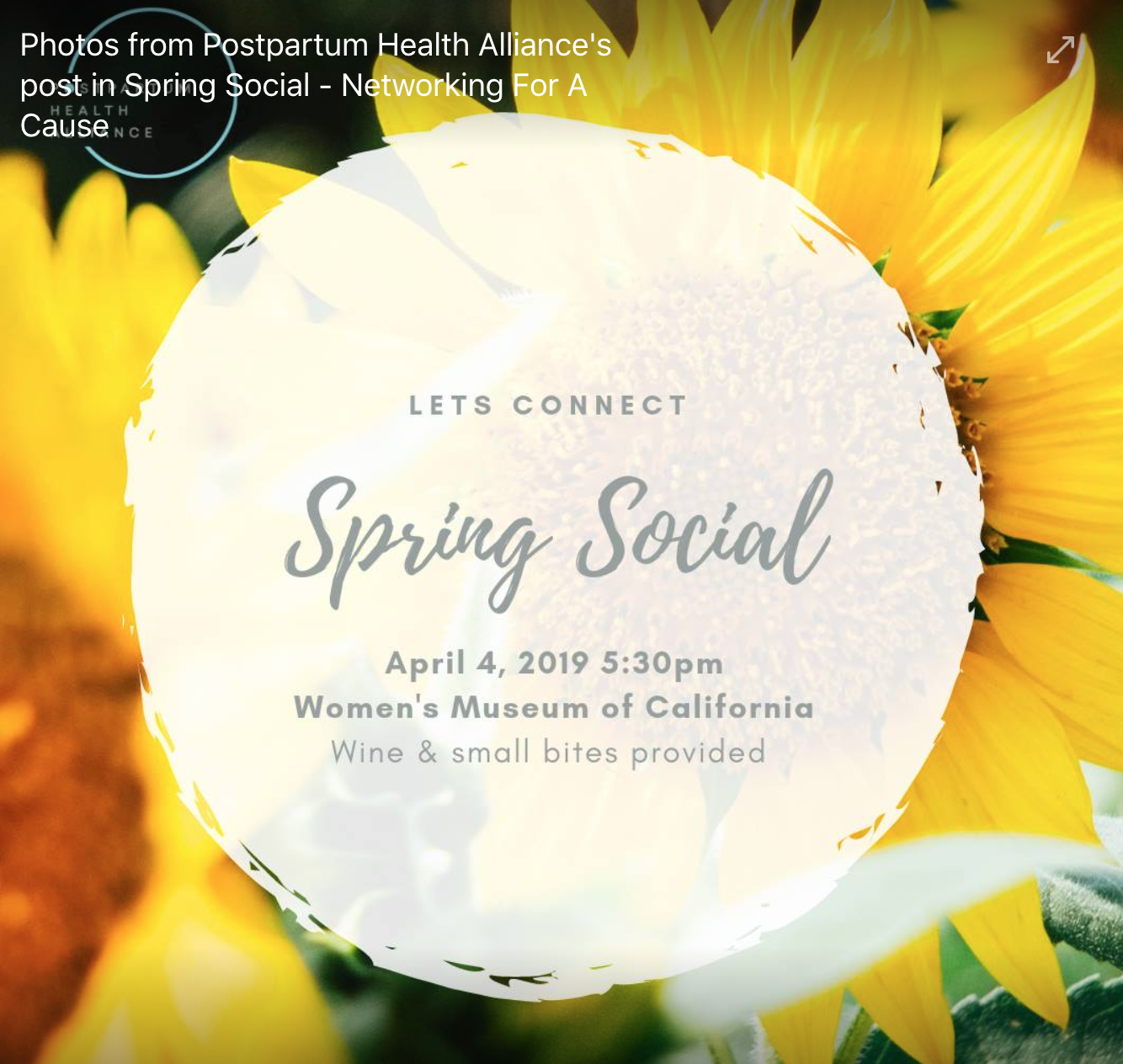 Super cool Spring Social from PHA! Will you be there too? Pictures downloaded from PHA's facebook page.
