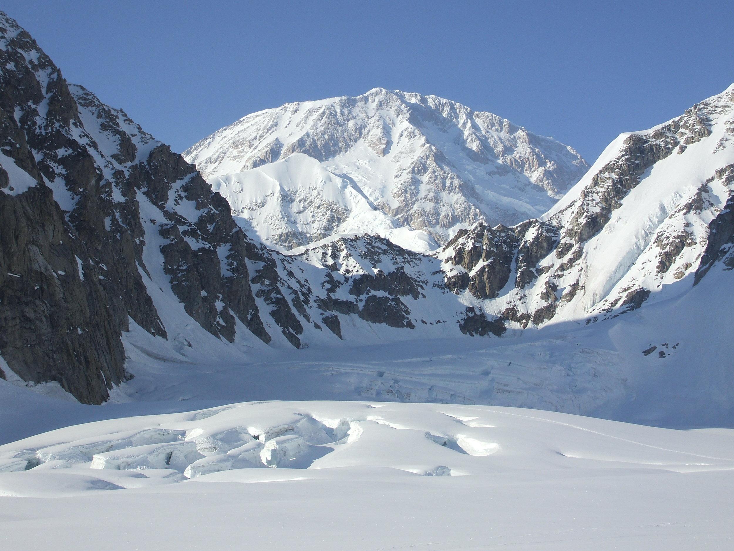 Denali at Base Camp.  Photo  Credit: Fletch