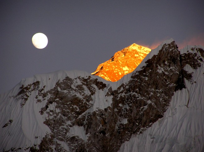 Everest by Moonlight.  Photo  Credit: AndrewN