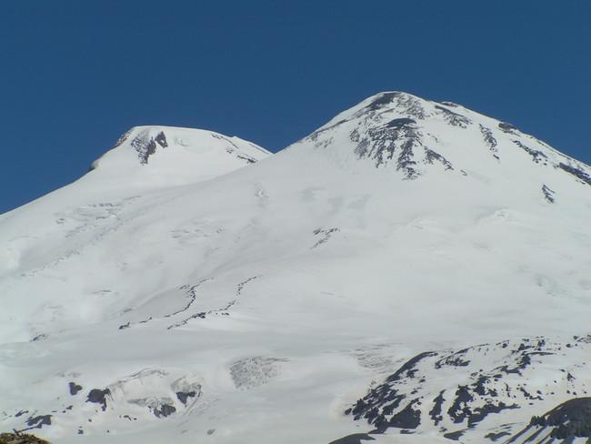 Mount Elbrus.  Photo  Credit: Mike W.