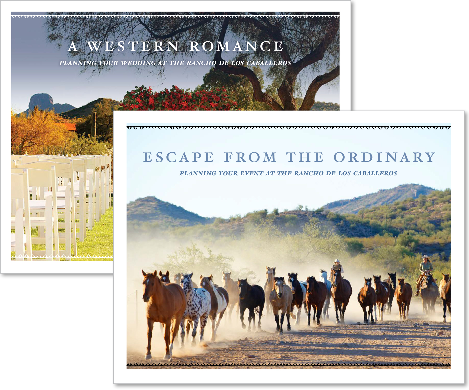 Event pLANNERS: A WESTERN RESORT RAISES THE BAR -