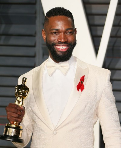 Tarell Alvin McCraney    Tarell Alvin McCraney is an American playwright and actor. He is the incoming chair of playwriting at the Yale School of Drama, effective July 1, 2017. He is also a member of Teo Castellanos/D Projects Theater Company in Miami and in 2008 became RSC/Warwick International Playwright in Residence at the Royal Shakespeare Company. In April 2010, McCraney became the 43rd member of the Steppenwolf Theatre Ensemble. He co-wrote the 2016 film Moonlight, based on his own play In Moonlight Black Boys Look Blue, for which he received an Academy Award for Best Adapted Screenplay.