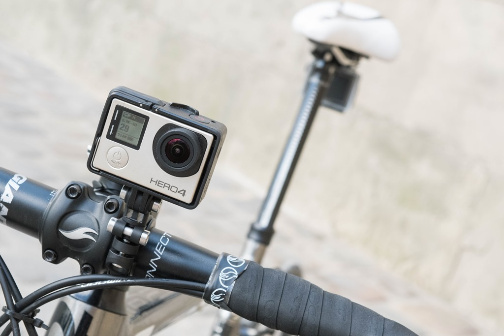 Action Cam - An action or sports cam serves several purposes. You can record your journeys to share with friends or family later and at the same time have video evidence in case of a mishap. Most people mount their cameras on the handlebar or helmet.