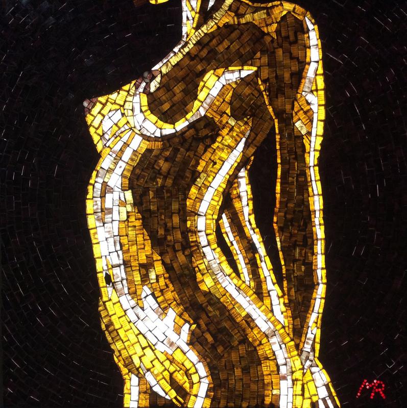 Oiled III - Illuminated