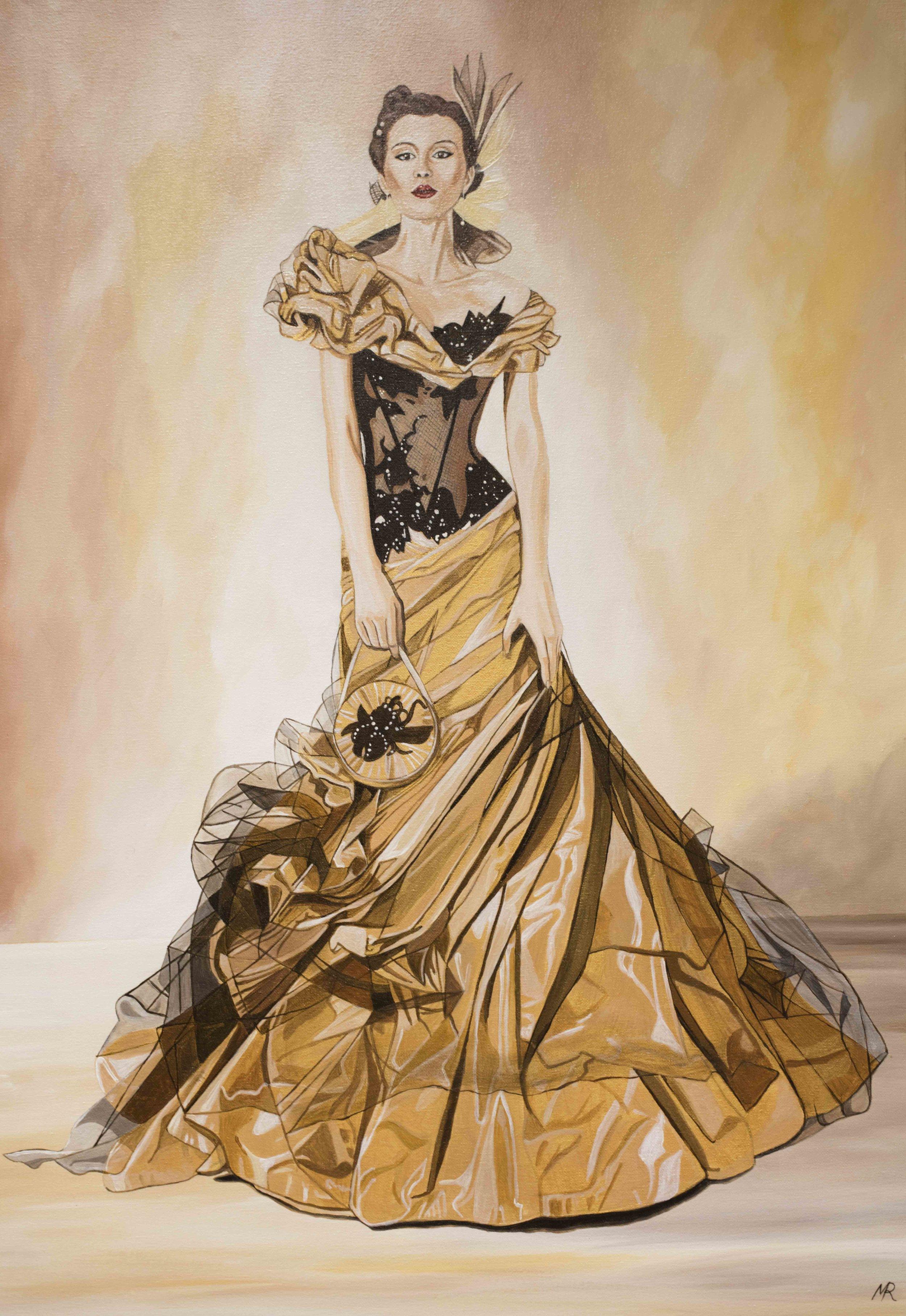 Golden Dress I