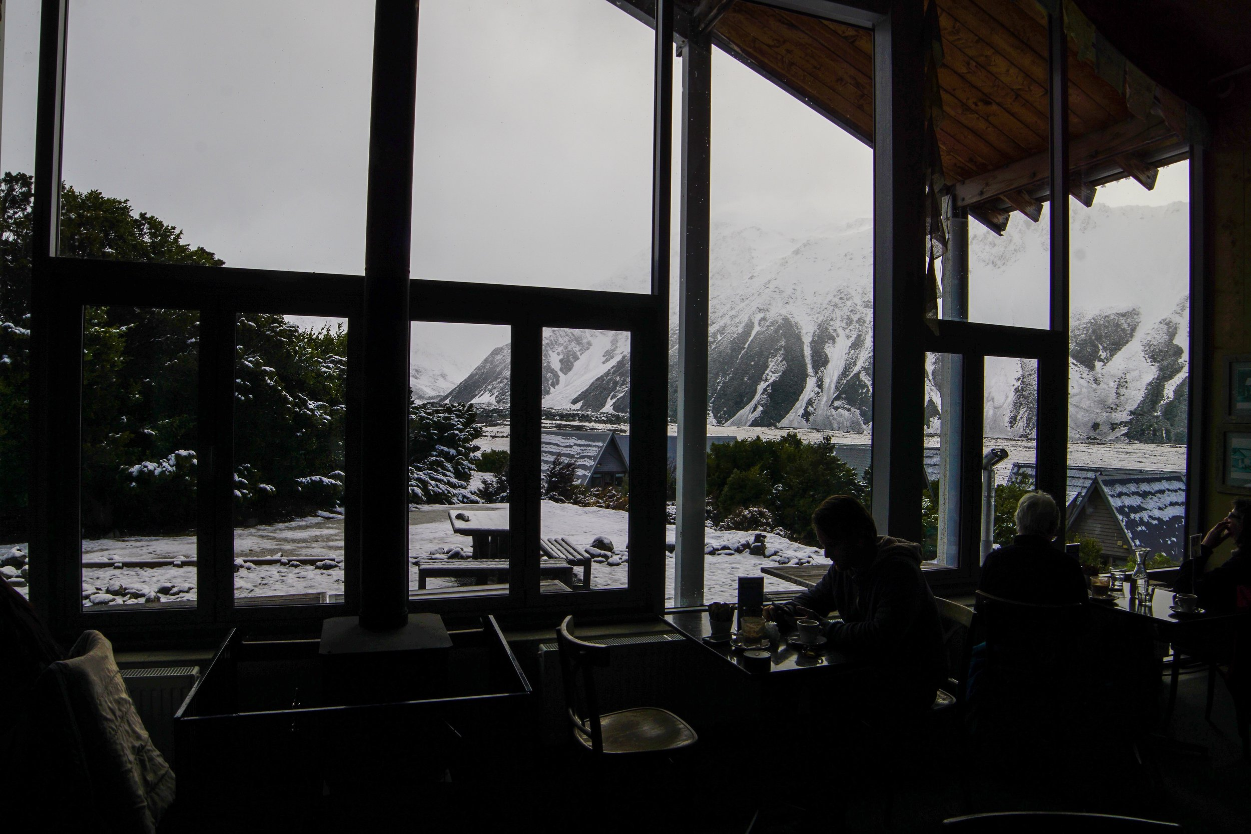 View from Mountaineer Cafe