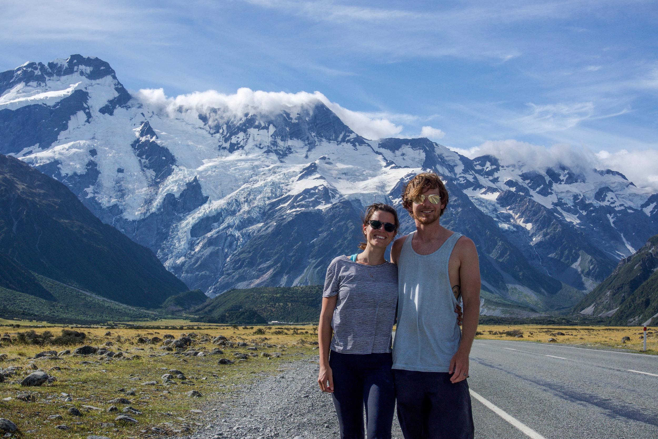 Ryan & I @ Mount Cook National Park