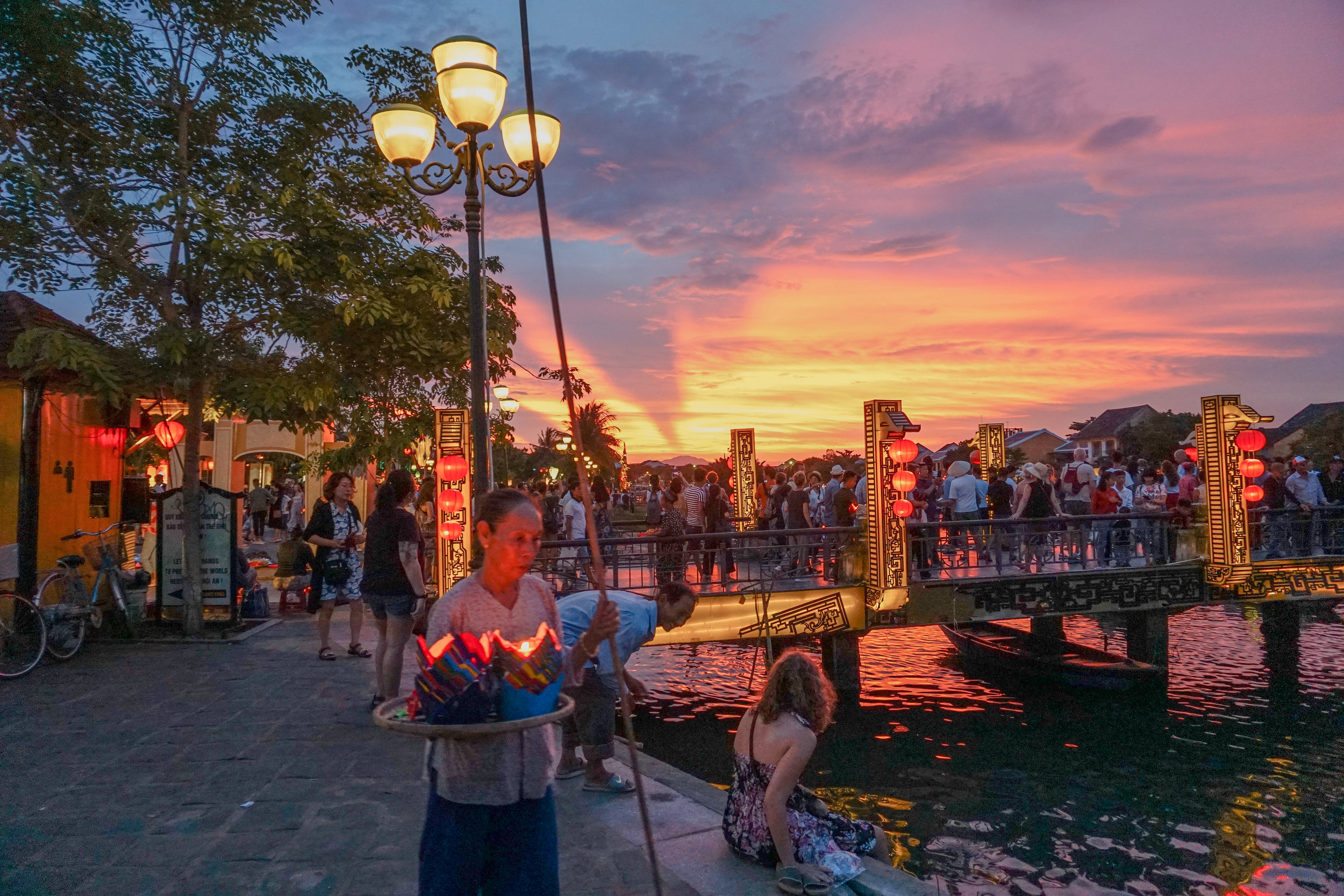 Hoi An in the evening