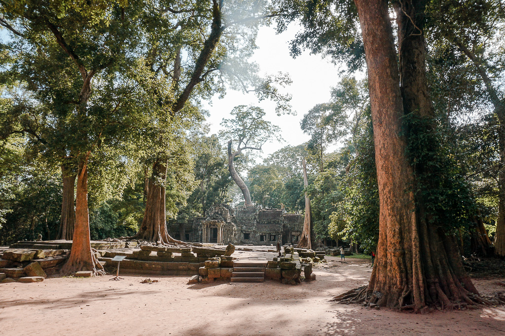 Front of Ta Prohm Temple