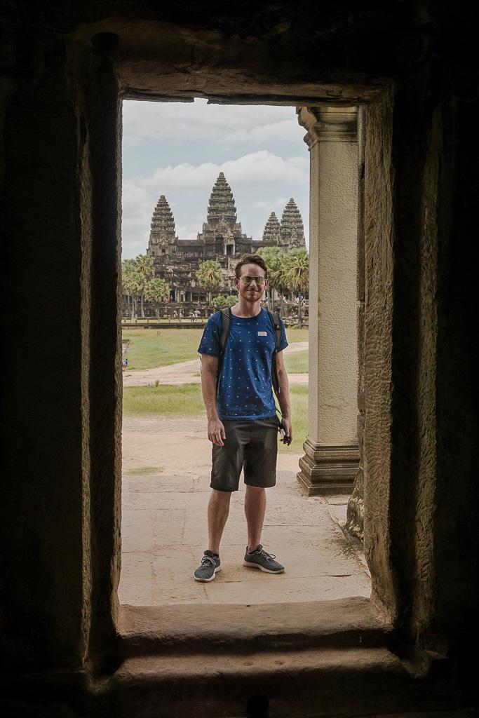 Ryan at Angkor Thom Temple