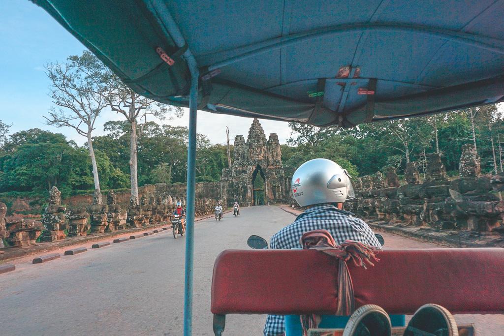Early Morning Tuk-Tuk rides