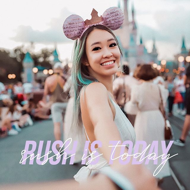 Let the magic begin 💓✨ First rush event is today! See you there #rushweek #rushchis