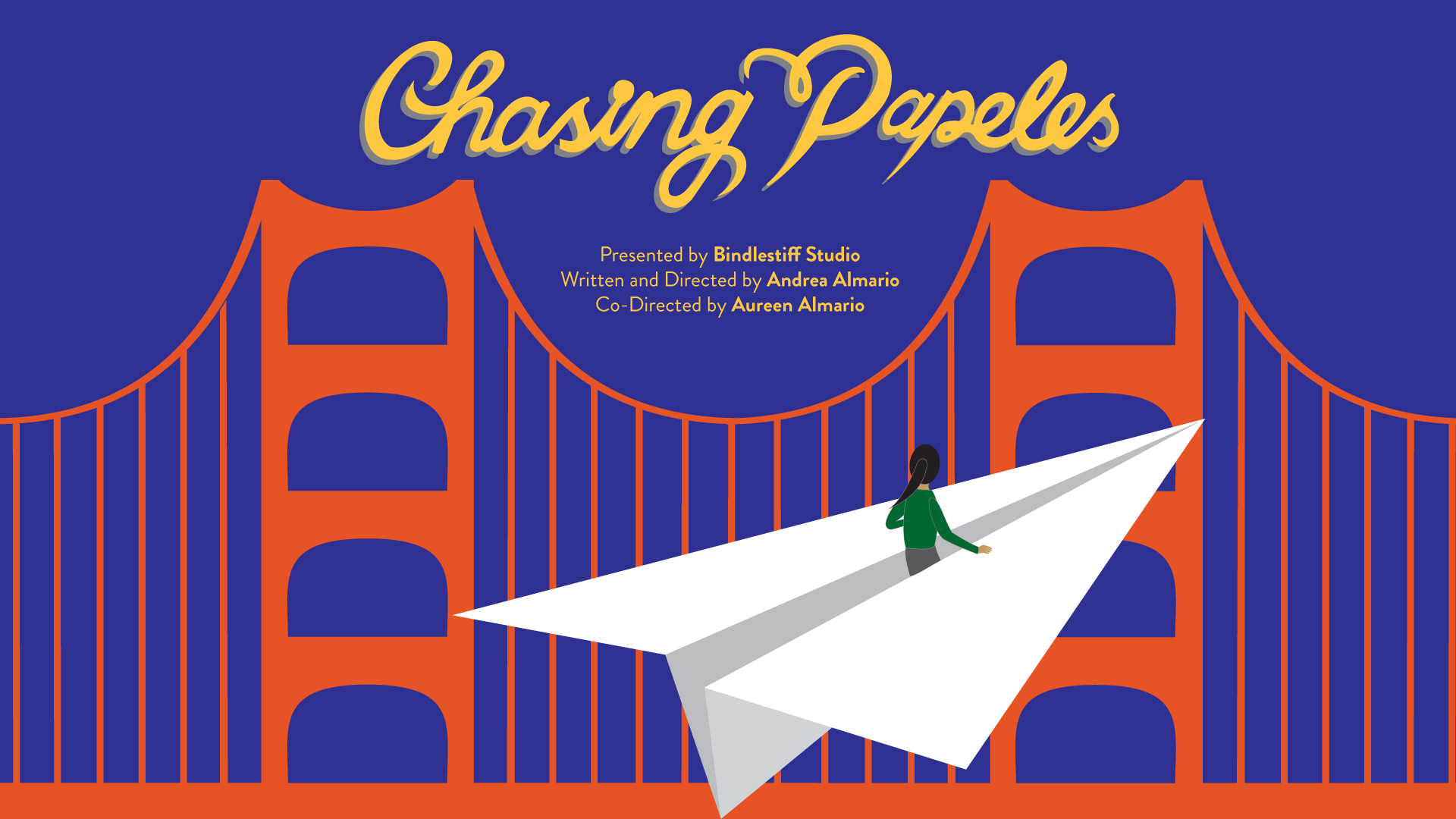Chasing Papeles 2018. Graphic Design by Joyce Yin.