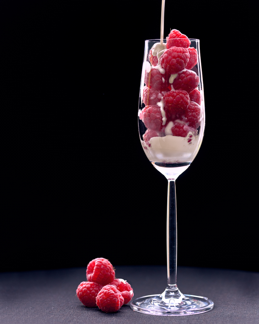 Raspberries & Cream