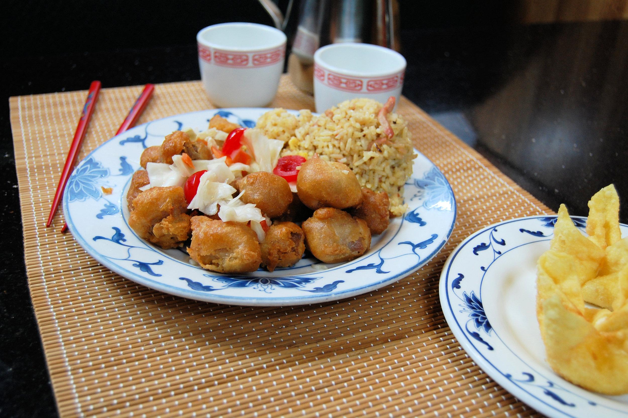 DSC_0477 Sweet and Sour Pork with Crab Rangoon.JPG