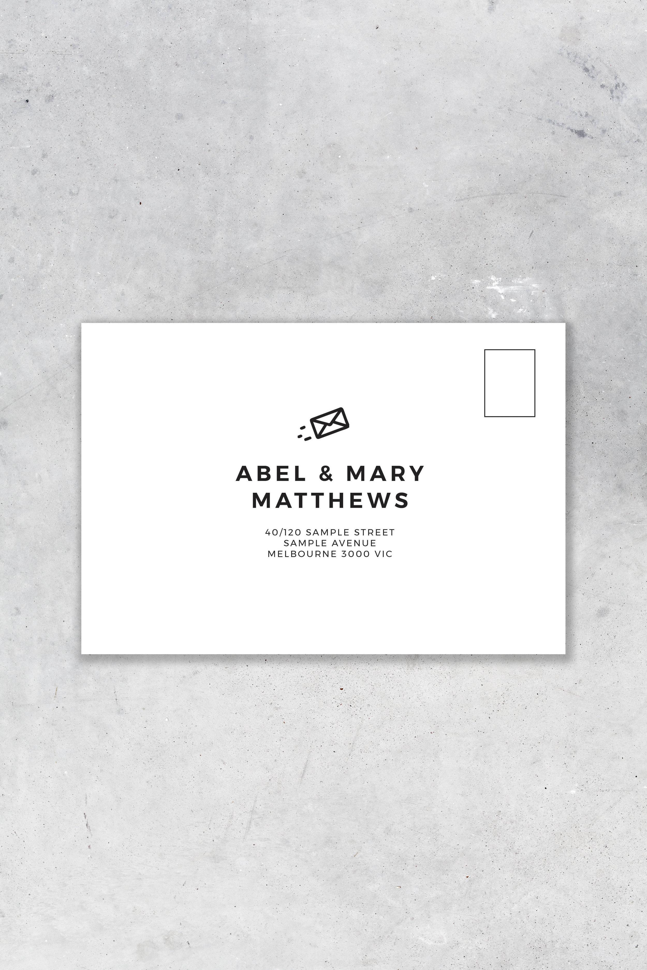 Envelope Option 2 - Front