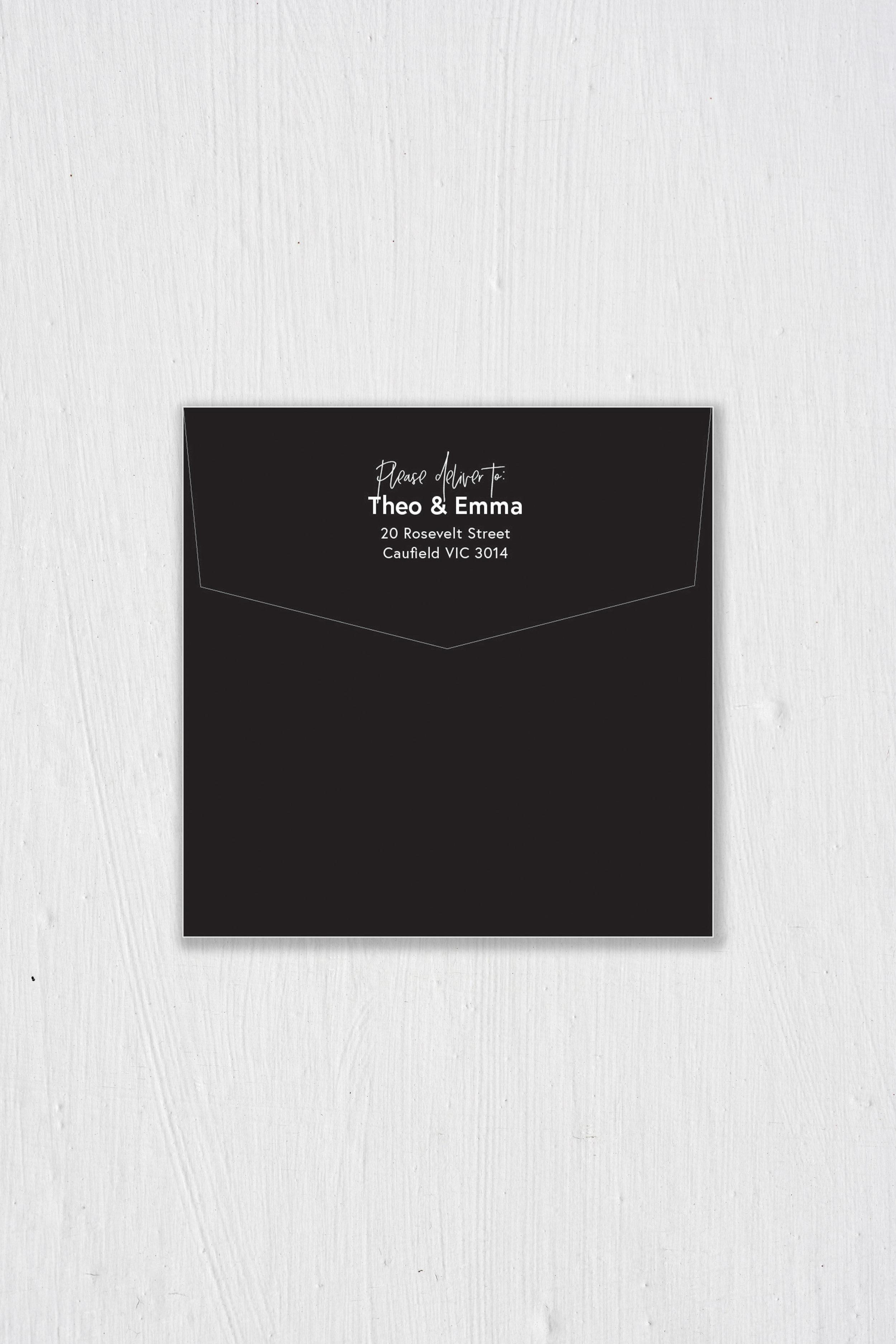 Envelope II - Front