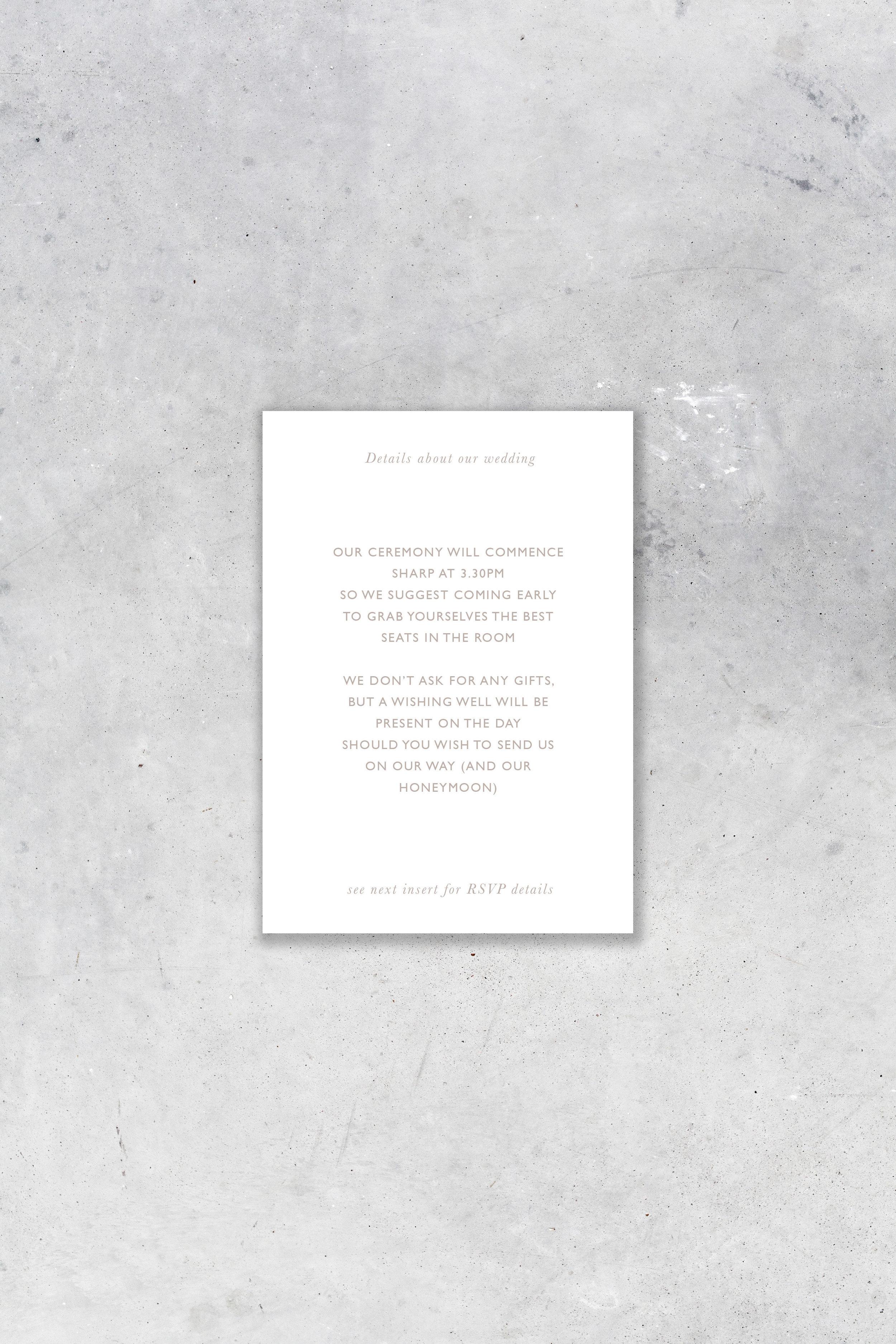 Info Card - II