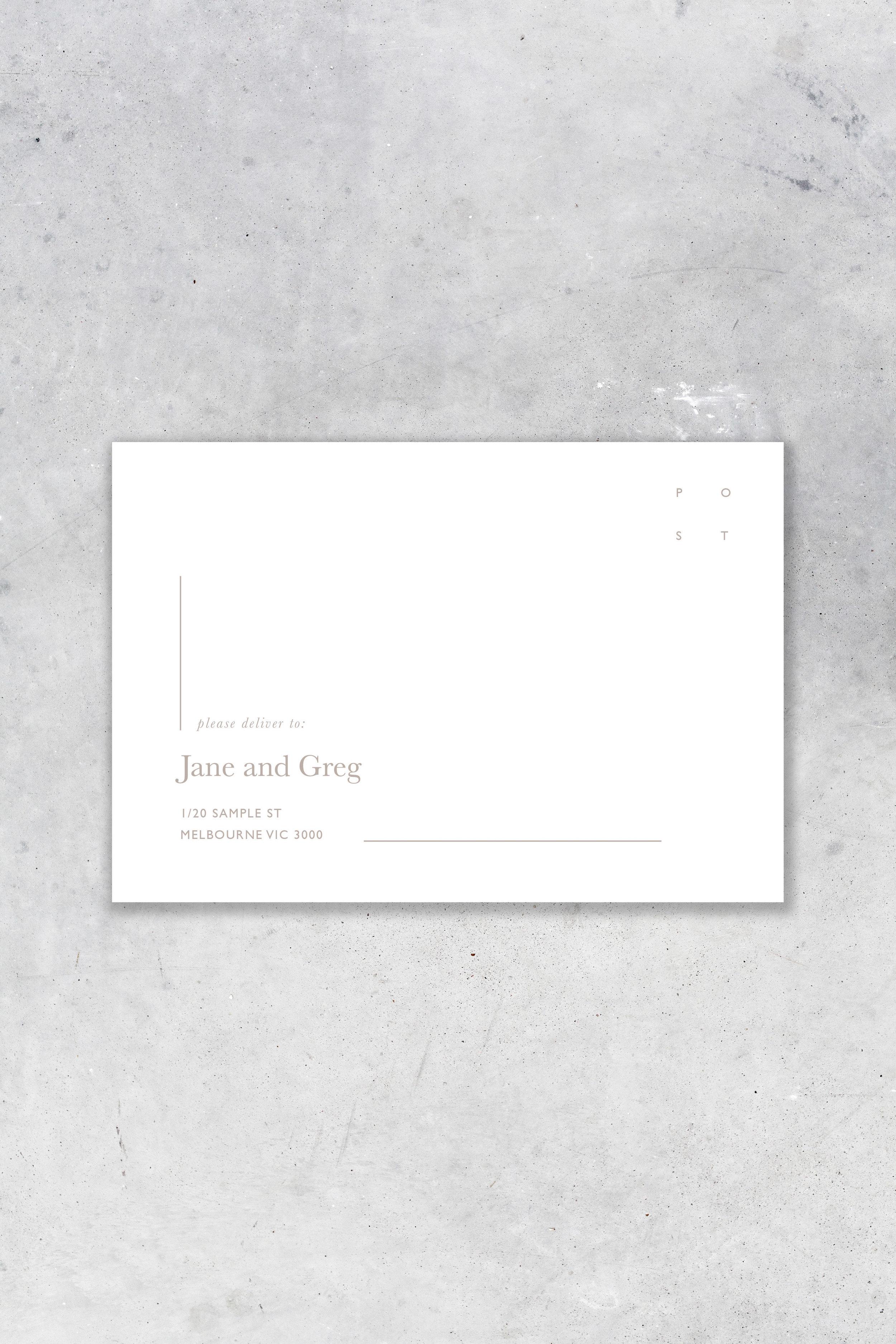 Envelope - Front