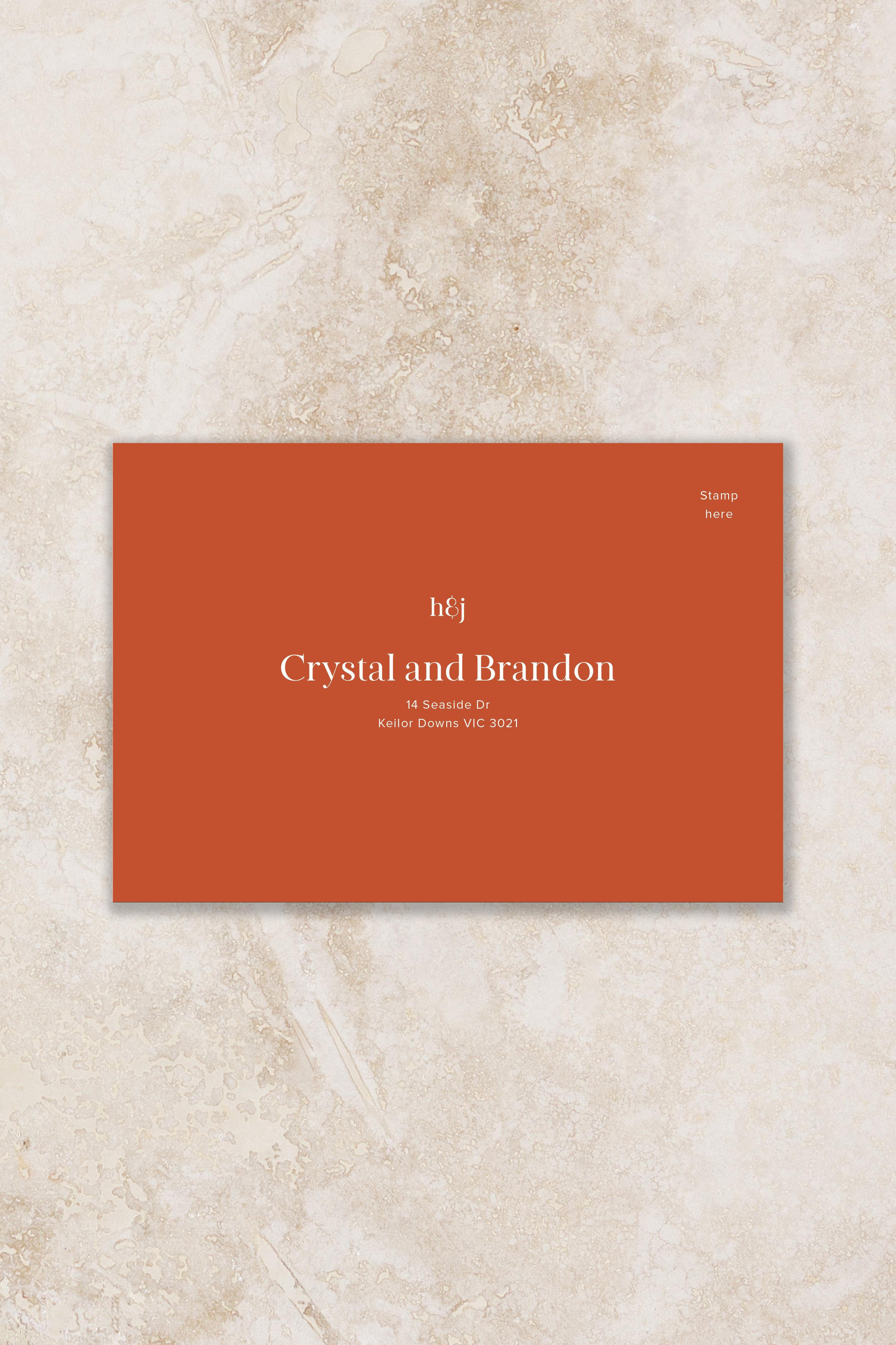 Envelope 1 - Front