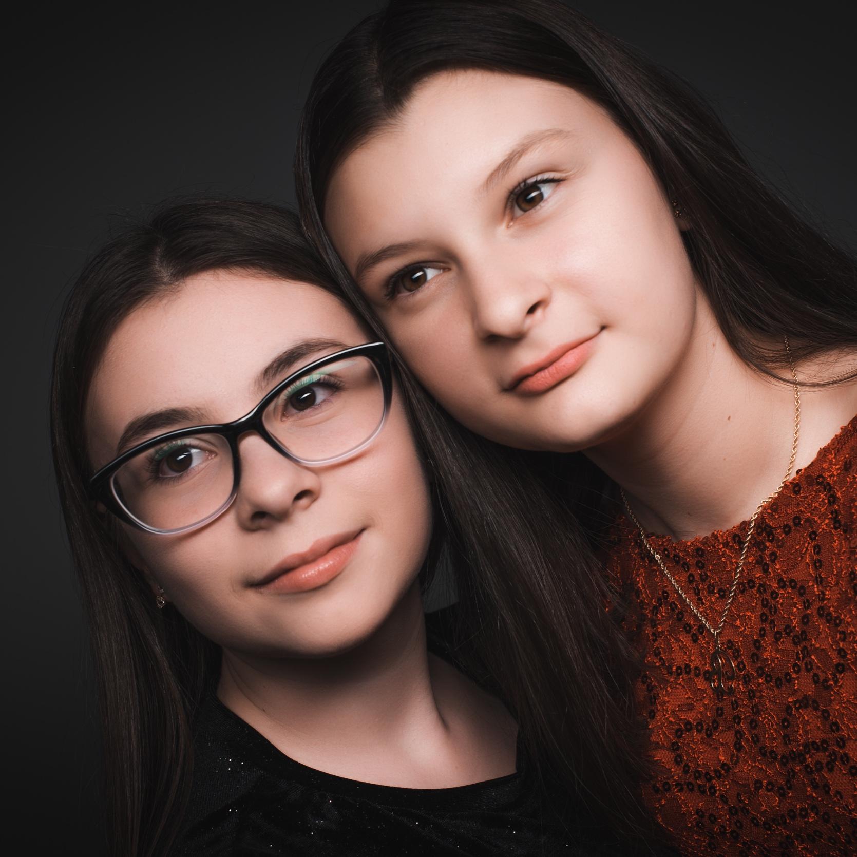 Andrea & Bianca - Studio portaits.