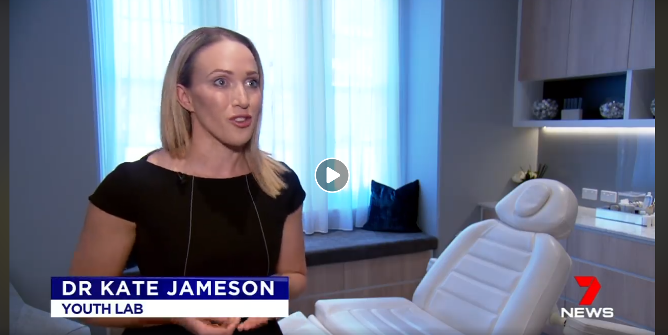 Seven News - Seven News asked Dr Kate to be an expert contributor for a segment on cosmetic injector qualifications and safety.