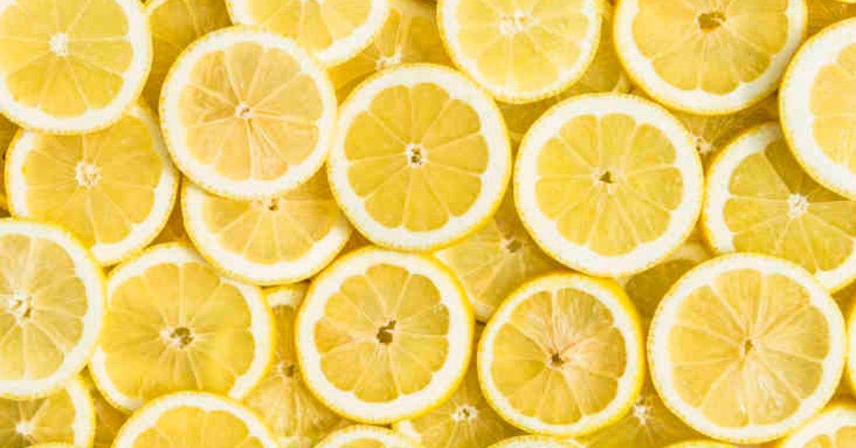 1) Lemon juice to brighten and lighten the skin -