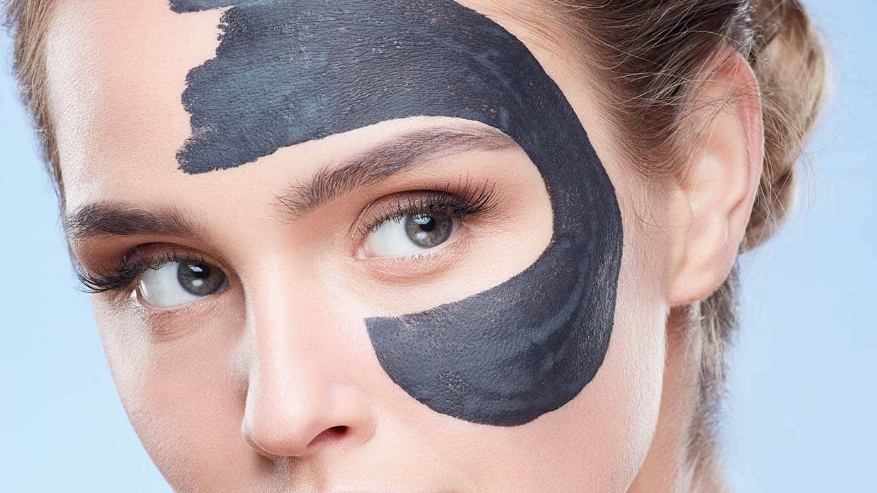 9) Charcoal masks to treat acne and congestion -