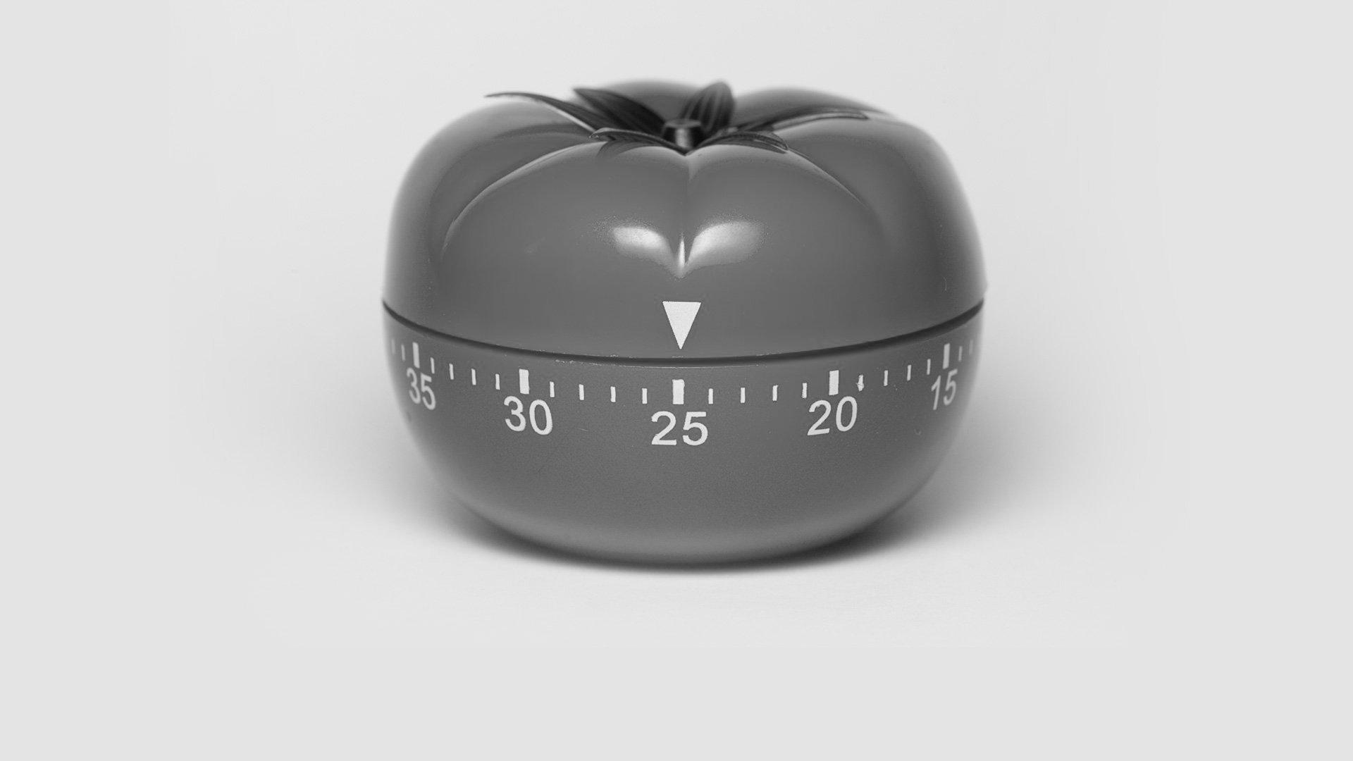 The pomodoro timer.