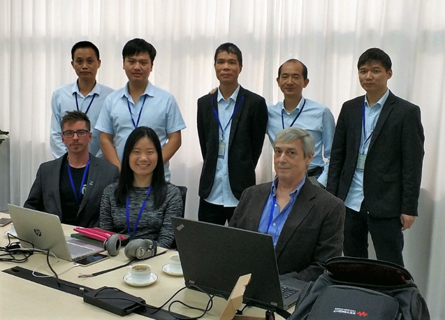 The full hardware team in Shenzhen .