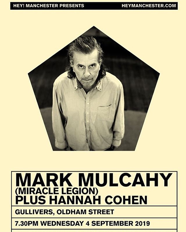 The wonderful @misshannahcohen and her band will be joining us in Manchester on Sept. 4 @gulliversnq Get your tickets now! Link in the bio above ☝️#misshannahcohen #bellaunion #heymanchester #markmulcahy #gulliversnq #hannahcohen