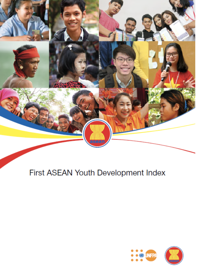 - The Association of Southeast Asian Nations Youth Development Index (ASEAN YDI) was developed following a 2015 commitment by member States – Brunei Darussalam, Cambodia, Indonesia, Lao PDR, Malaysia, Myanmar, Philippines, Singapore, Thailand and Viet Nam. NAPS was one of two consultants to facilitate workshops with member States' representatives, youth organisations, ASEAN secretariat and UNFPA to design an index based on the Global YDI but tailored to the ASEAN context. Once a set of indicators and methodology had been agreed upon by all member States, NAPS constructed the ASEAN YDI and provided analysis and context in the report which can be found at ASEAN YDI