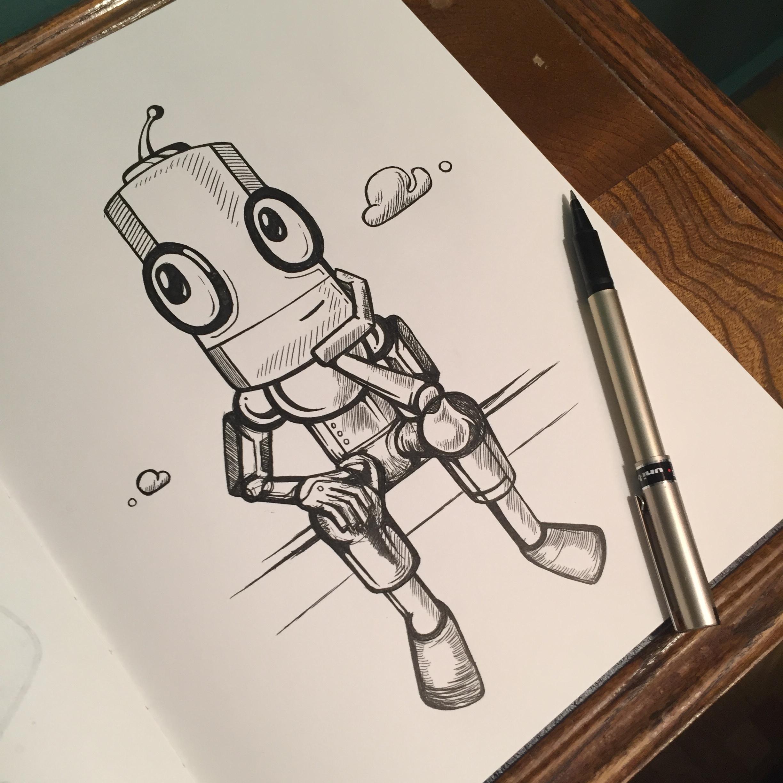 Sketchbook - Uni-ball Deluxe