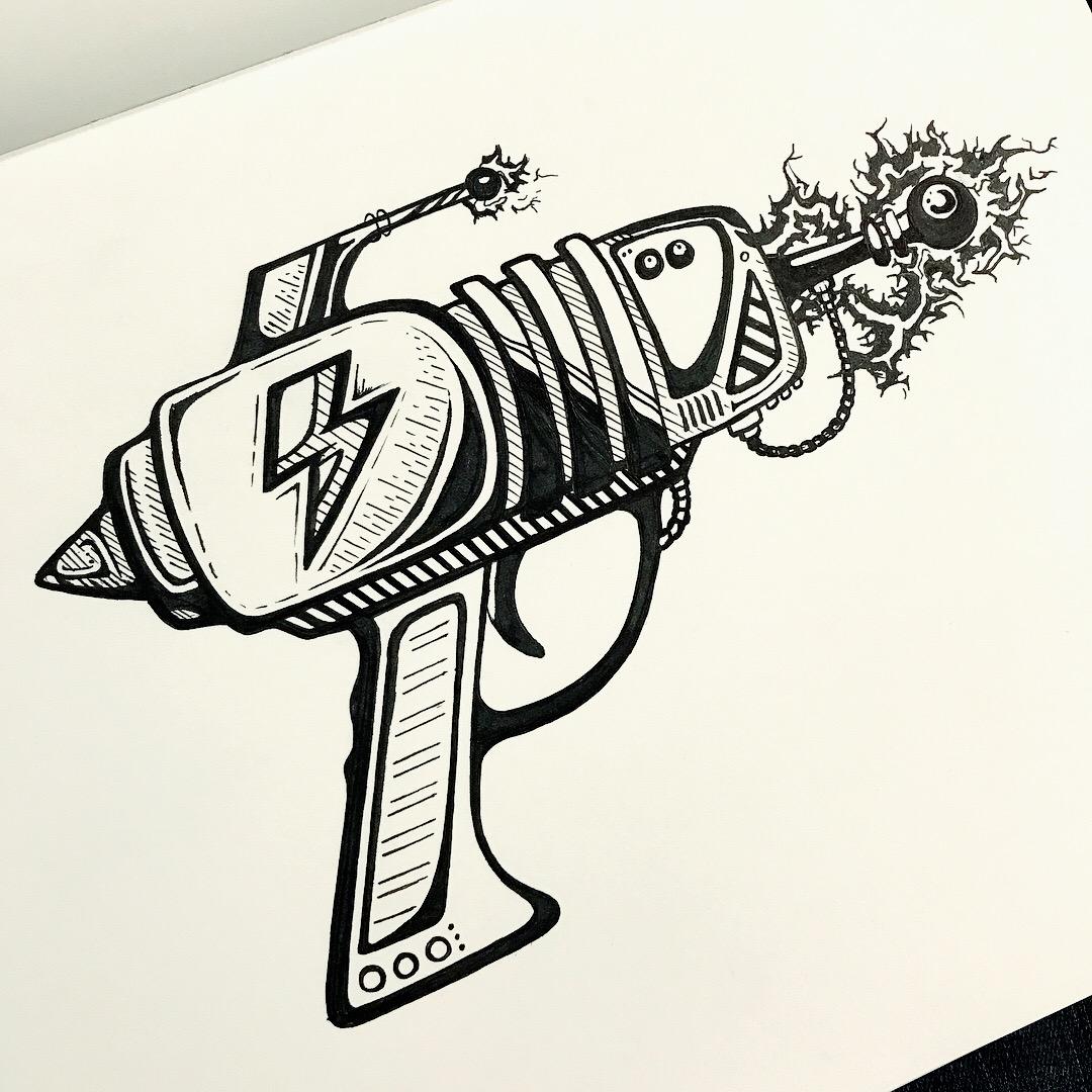 Sketchbook - Brush Pen, 0.5 Liner