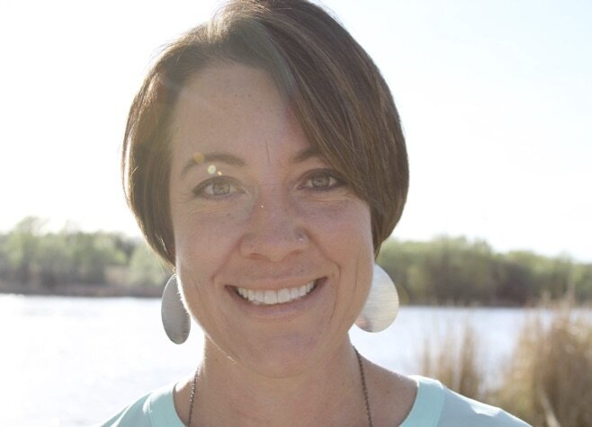 """Retreat Leader Michelle Discavage:  Michelle is a speaker and author of """"Unknown Women of the Bible,"""" and """"Stained Glass Life."""" When she's not dreaming of a vacation in the mountains, she loves encouraging women where God has them and toward the harvest He has prepared for them."""