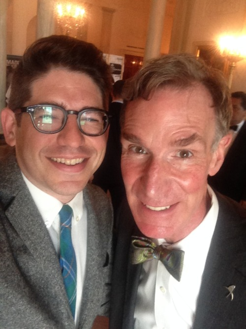 With Bill Nye at the White House