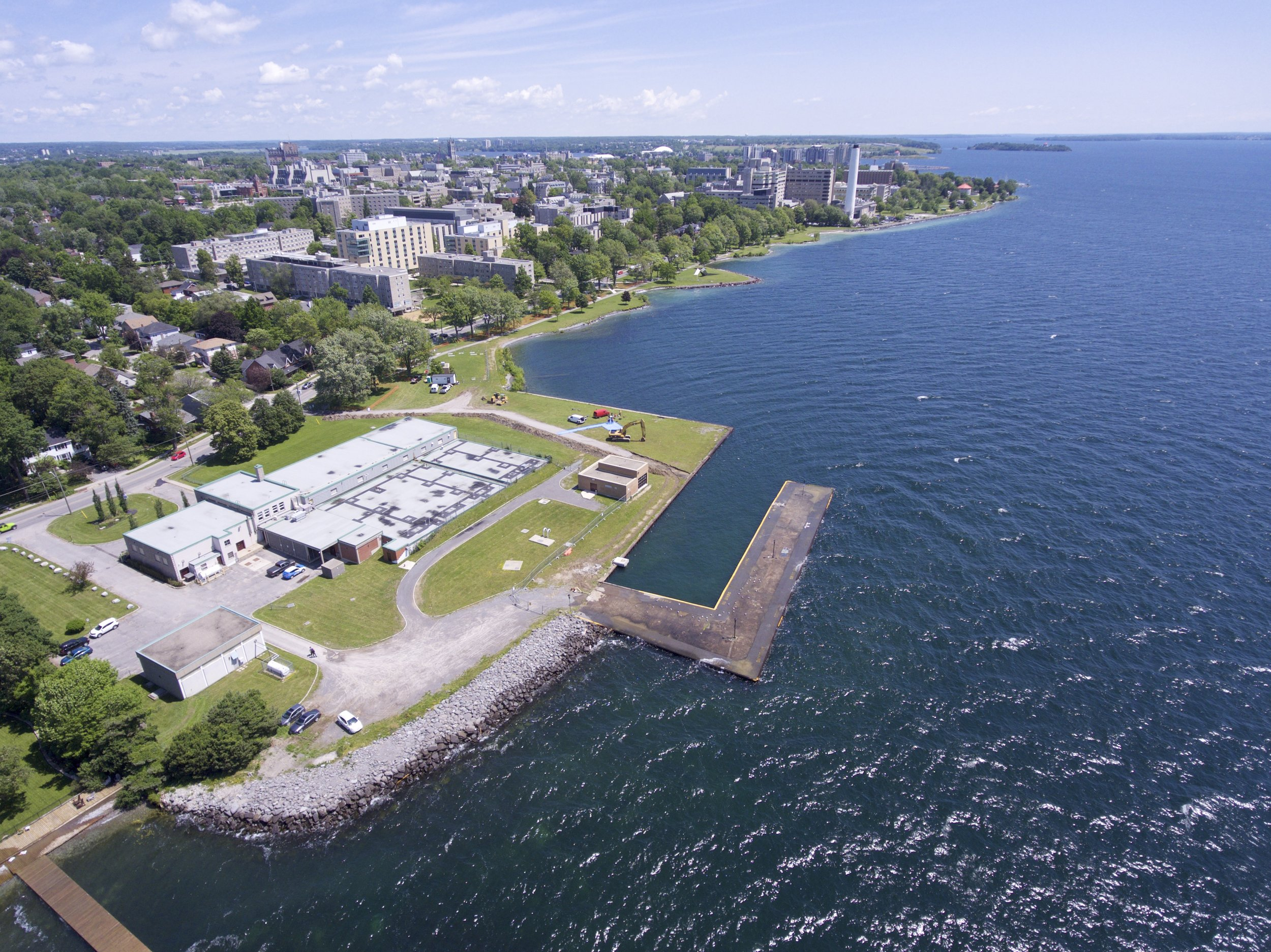 Aerial Photo of Breakwater Park