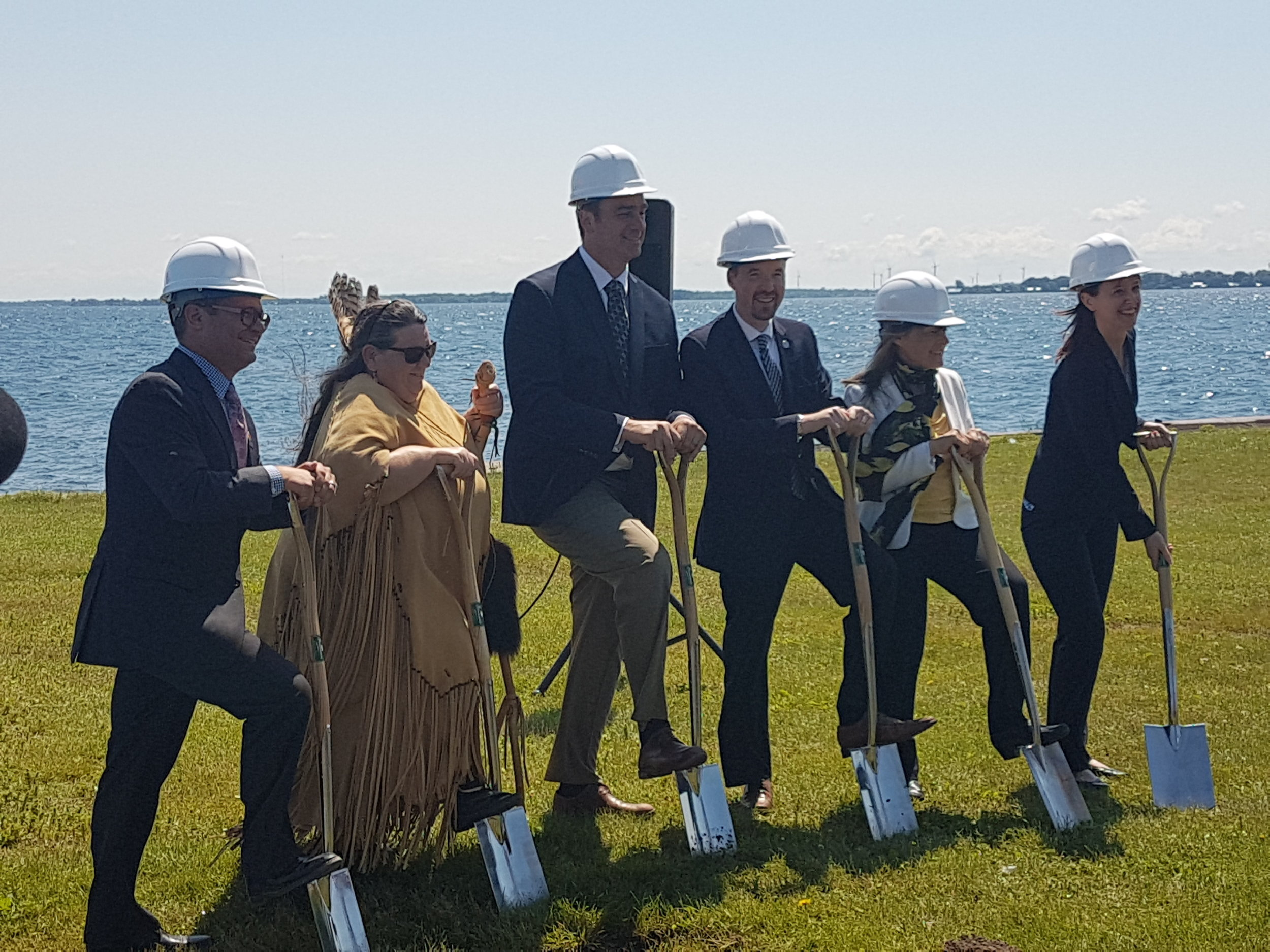 Groundbreaking Ceremony - June 2017