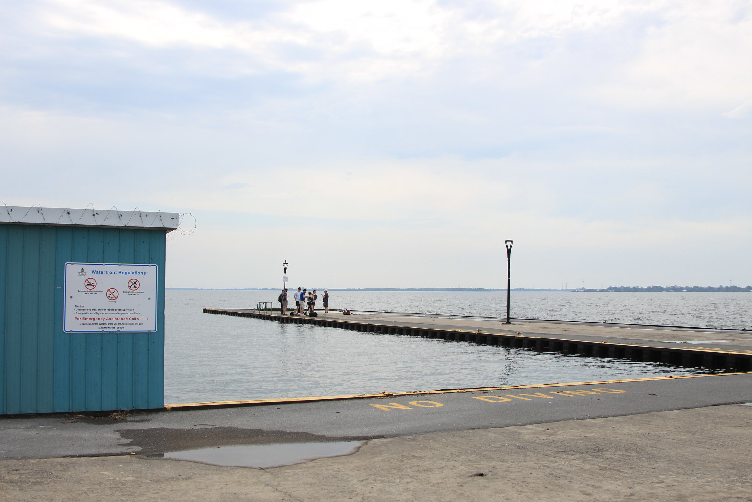 Pre-Construction - Former PUC Dock