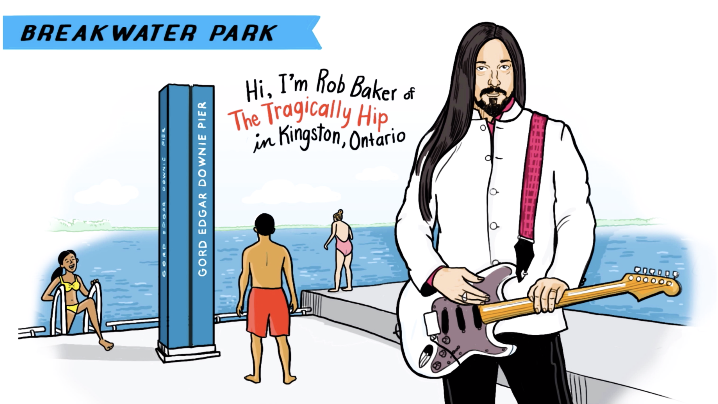 Rob Baker of The Tragically Hip - Water Safety - Swimming Pier - Gord Edgar Downie Pier, Breakwater Park - Kingston Ontario - Great Lakes Challenge - Swim Drink Fish - The W. Garfield Weston Foundation - Lake Ontario Waterkeeper.png