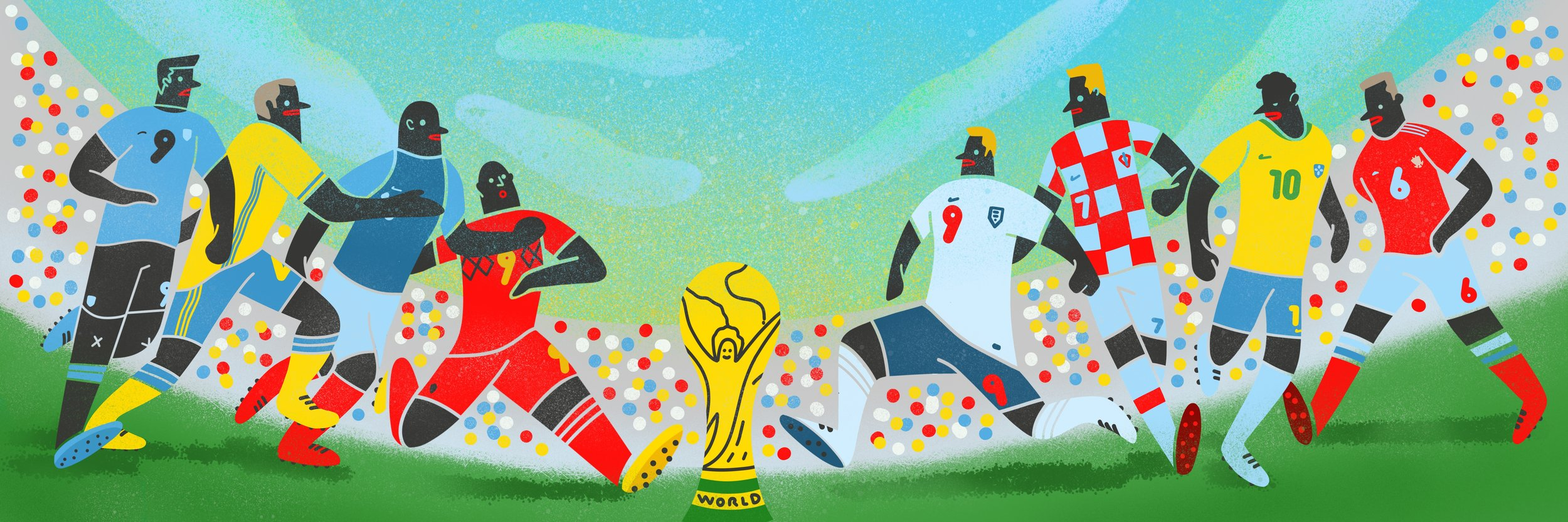 World Cup Rusia 2018.