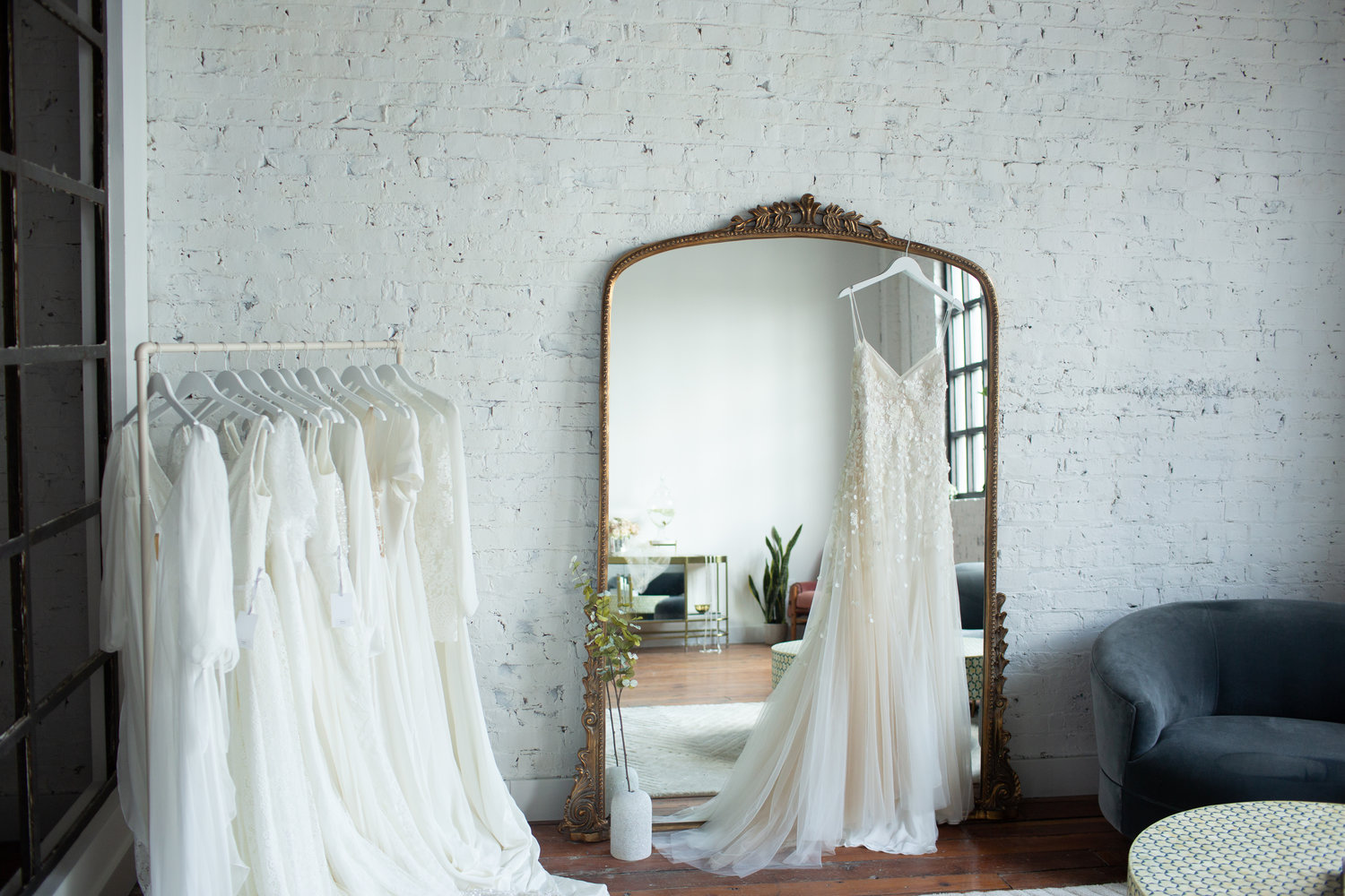 a peak into the lovely KINDRED Bridal space