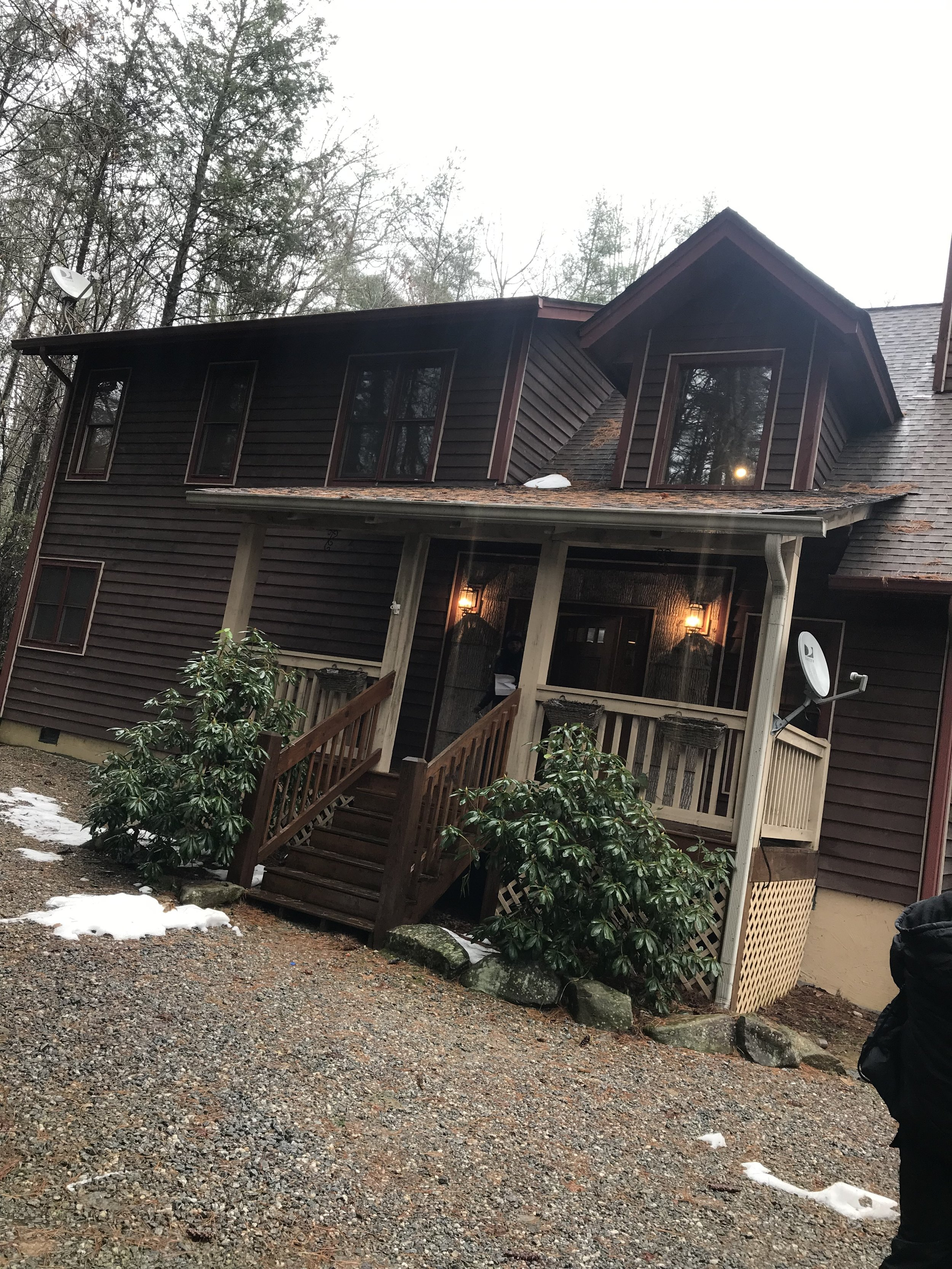 This was our home for the weekend