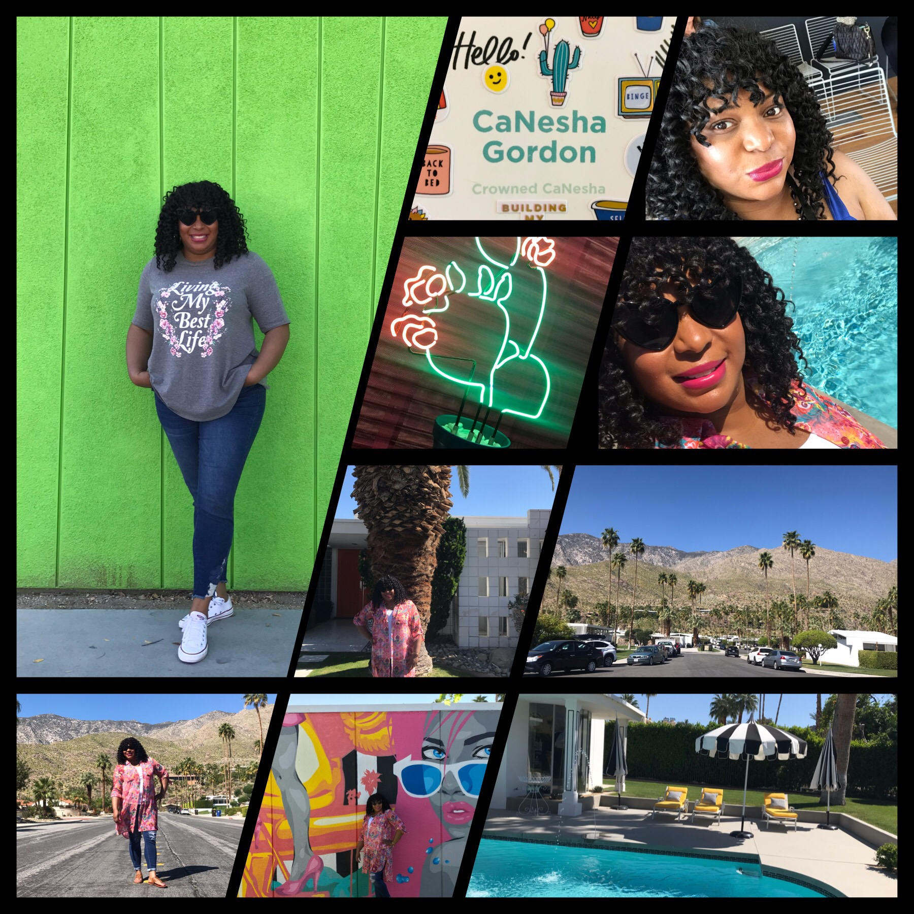 Living my best life. This is my 40's. #altsummit #palmspringsca #lanebryant #jessicalondonstyle #jessicalondon #imwithjessica