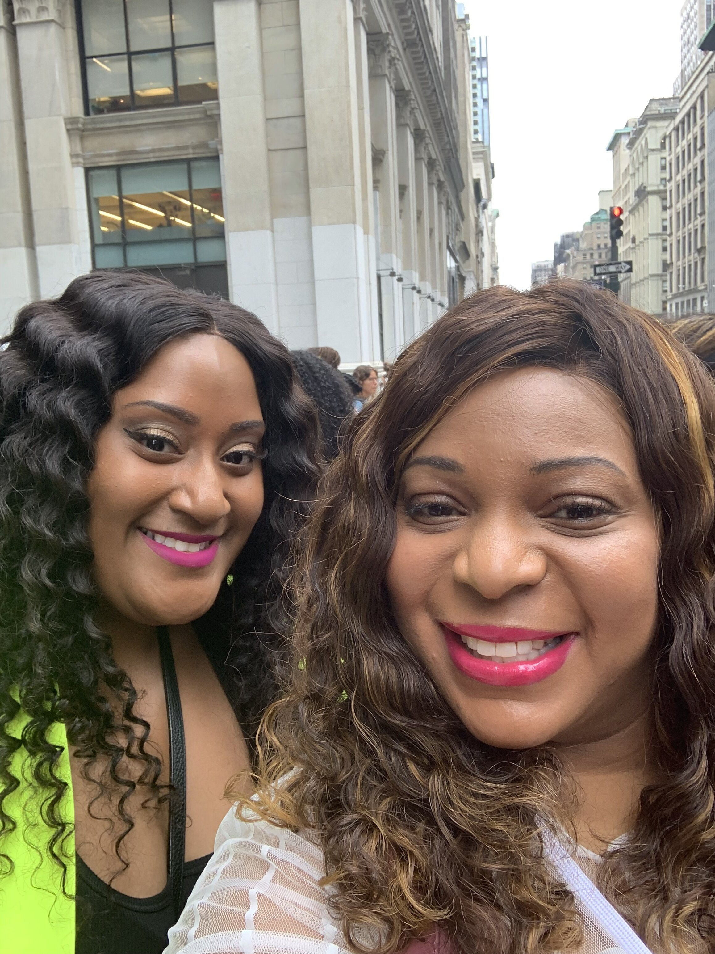 Blogger Bestie…It was both our first time at Curvy Con