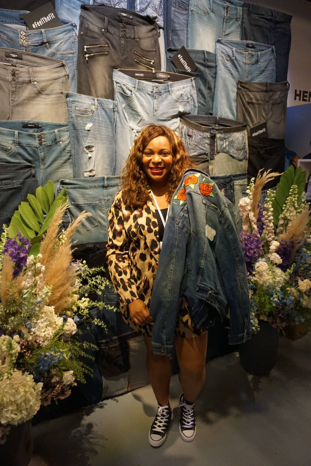 One of my favorite pieces of swag…this denim jacket from  Torrid