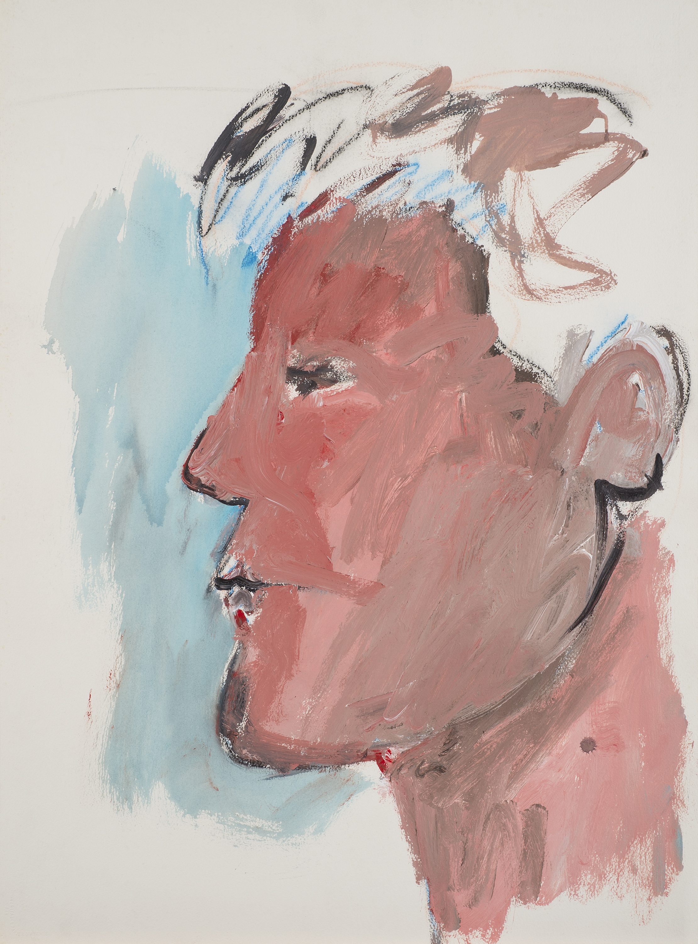 Untitled , 1982. Acrylic on paper, 30 x 22 in. ( 76.2 x 56 cm.)