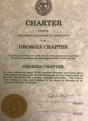 The official ASA GA Chapter Charter Document.