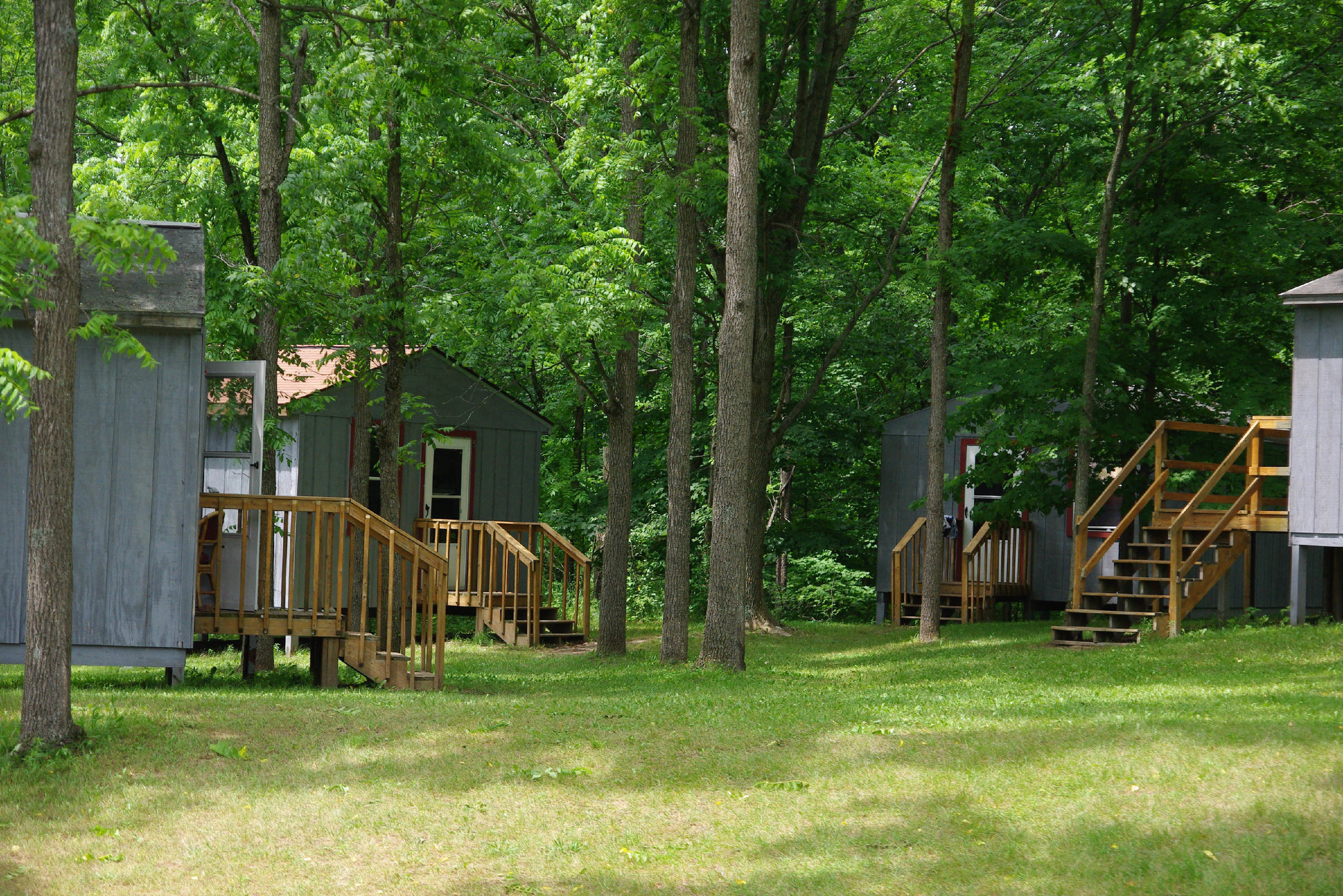 Some of the cabins at Camp.